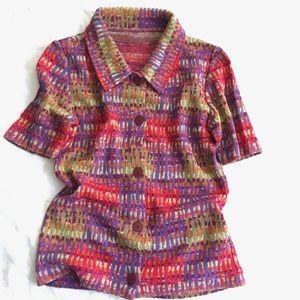 Missoni Sport Half sleeve Summer Sweater